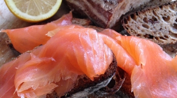 Qatar Airways Serves Locally-Smoked Salmon