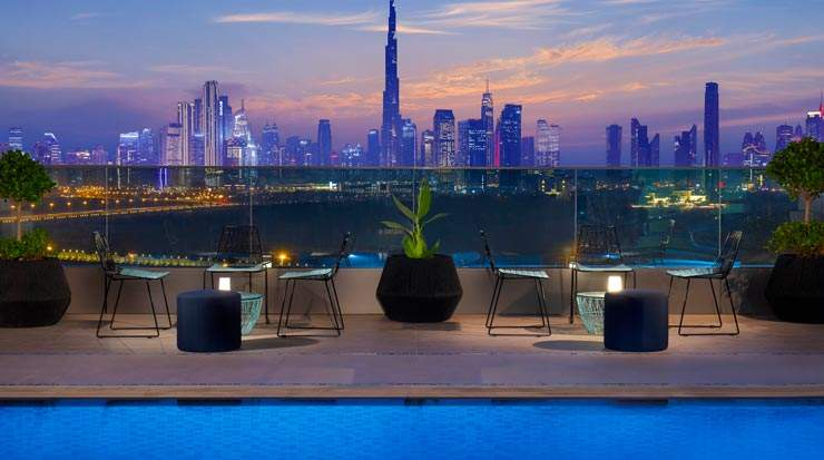 Residence Inn by Marriott Al Jaddaf Rooftop