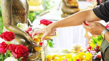 Locals and visitors can celebrate Amazing Songkran with time-honoured rituals