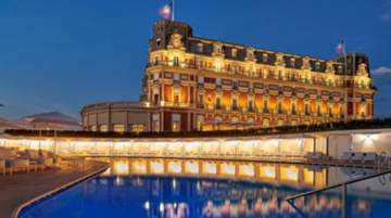 Hôtel du Palais in Biarritz, France to join the Unbound Collection by Hyatt