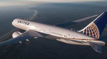 United Airlines operates a large domestic and international route network