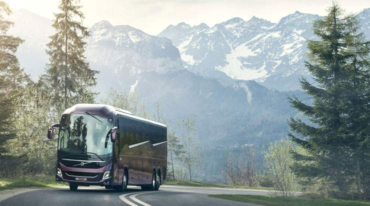 An all-new model range aims to get more people to travel by coach, even on long distances