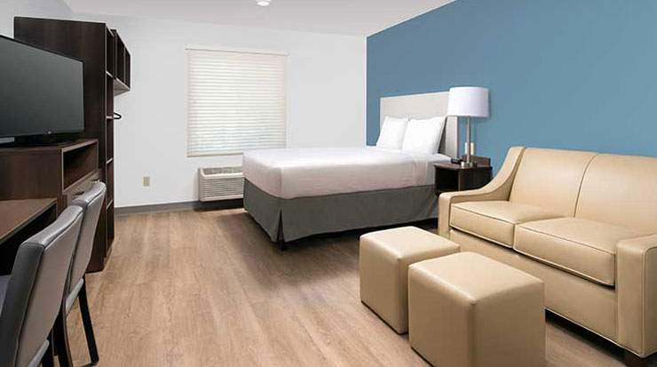 There are more than 240 WoodSpring Suites hotels in over 35 states in the US