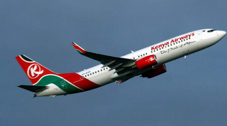 Kenya Airways plans a direct link between Nairobi and Cape Town from June