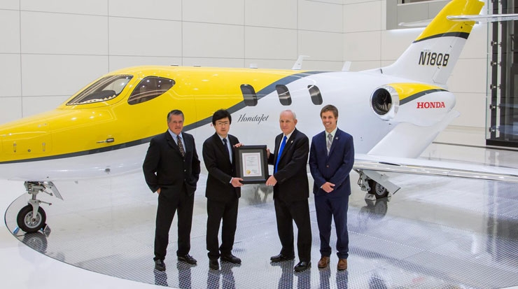 Honda Aircraft Company Receives the certification